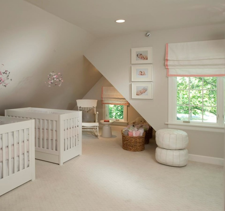 Pink And Gray Girls Baby Room: Pink And Gray Nursery