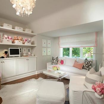 Pink and Gray Nursery, Contemporary, nursery, Tiffany Farha Design