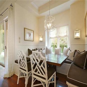 Built In Dining Banquette, Transitional, kitchen