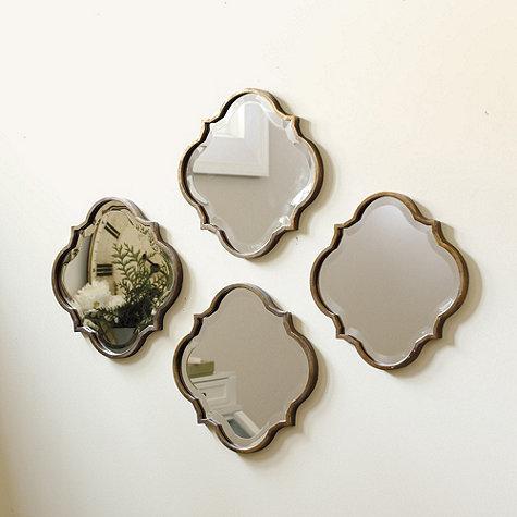 Threshold Gold Clover Mirror