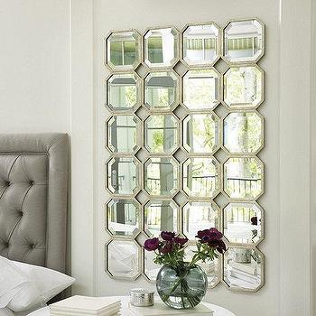 Multi Panel Foxed Mirror West Elm