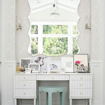 Vanity Nook, Contemporary, closet, BHG