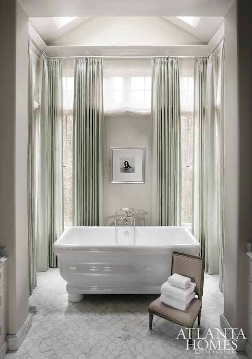Bathtub Alcove Transitional Bathroom