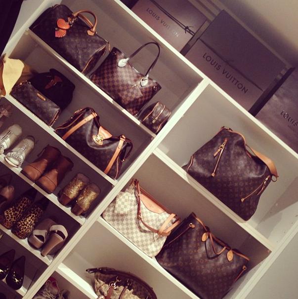 Shelves For Bags Design Ideas