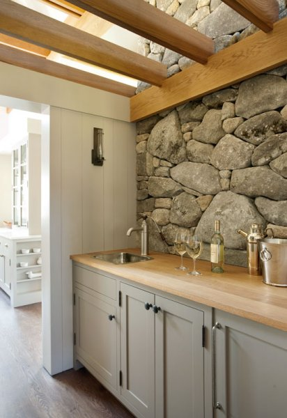 Stone Backsplash Design Ideas