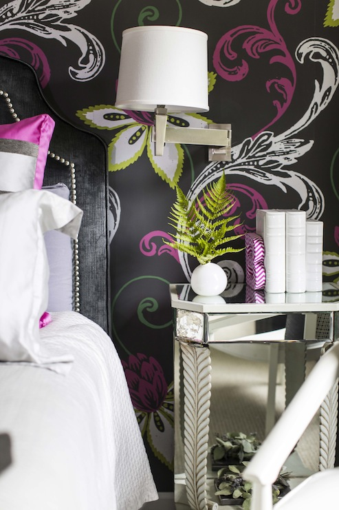 Wohnideen Wolter pink and black room contemporary s room b metro