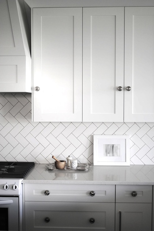 Subway Tile Patterns - Transitional - kitchen - Flourish ...
