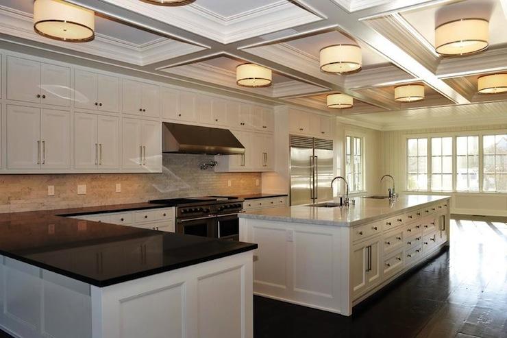 Kitchen Island with 2 Sinks - Transitional - kitchen - Michael ...