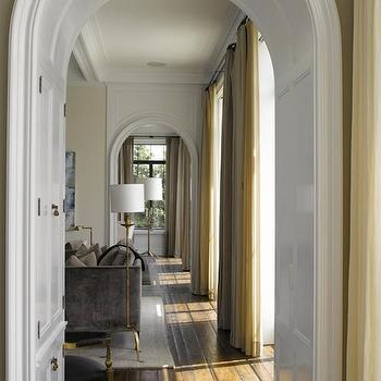 Arched Doorways, Transitional, living room, Heiberg Cummings Design