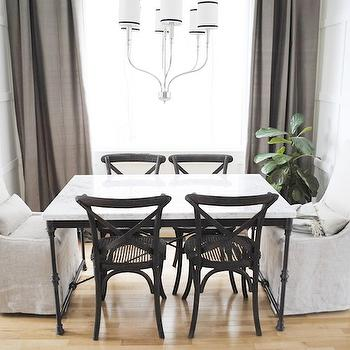 French Kitchen Table, Transitional, dining room, Flourish Design & Style