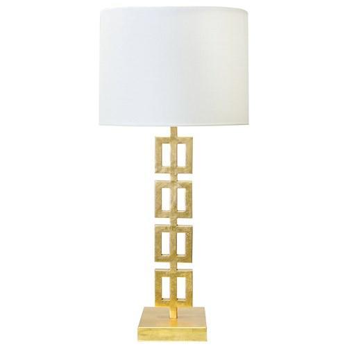 Gold Geometric Lamp Base Land Of Nod