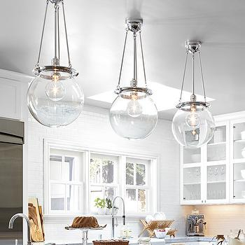 Clear glass globe pendants design ideas glass globe pendants mozeypictures Image collections