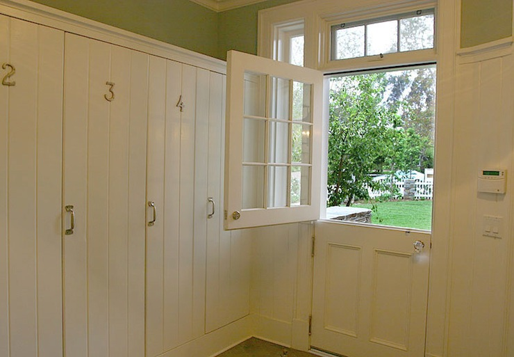 Dutch Door Transitional Laundry Room Morrow And Morrow