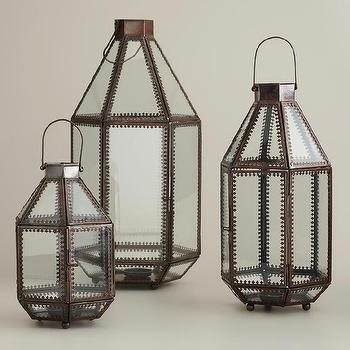 Kamali Tabletop Lanterns, World Market