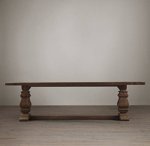 Restoration Hardware Dining Table Look 4 Less and Steals  : 58606ed9c767 from www.decorpad.com size 513 x 500 jpeg 37kB