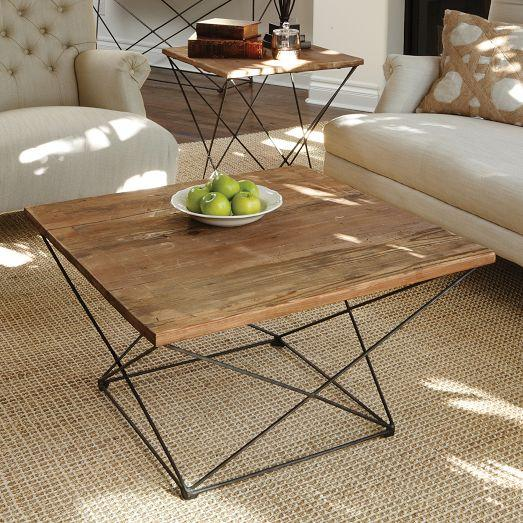 Coffee Table Angled Legs: Angled Base Coffee Table