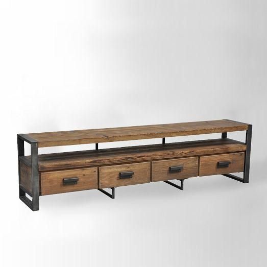 Bin Pull Media Console West Elm