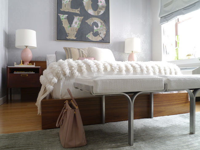 Platform Bed Eclectic Bedroom Modern Declaration