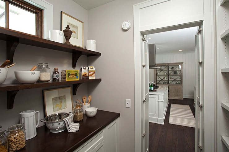 Walk In Pantry Kitchen Design