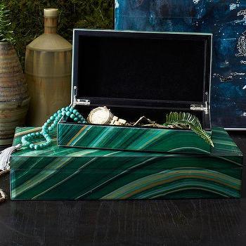 Agate Jewelry Box, west elm