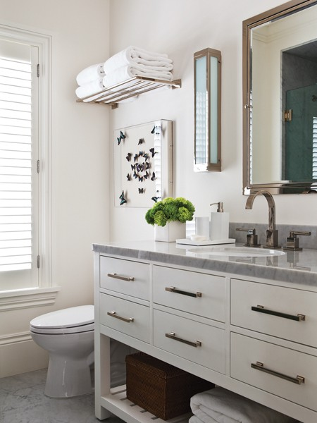 Hutton Washstand Transitional Bathroom House Home