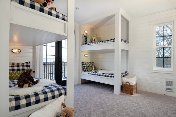 Plaid Bedding Transitional Boy S Room Jillian Harris