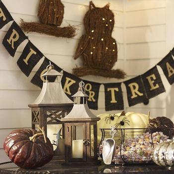 Trick Or Treat Banner, Pottery Barn