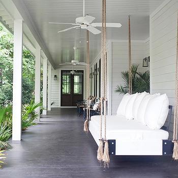 Swinging Sofa, Transitional, deck/patio, Heather A Wilson, Architect
