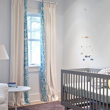 Oeuf Sparrow Crib Gray Contemporary Nursery Lonny