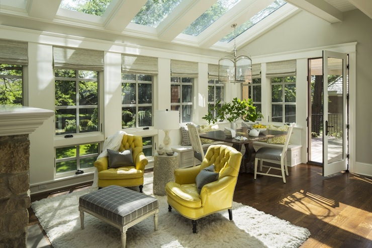 Sunroom Family Room Design Ideas