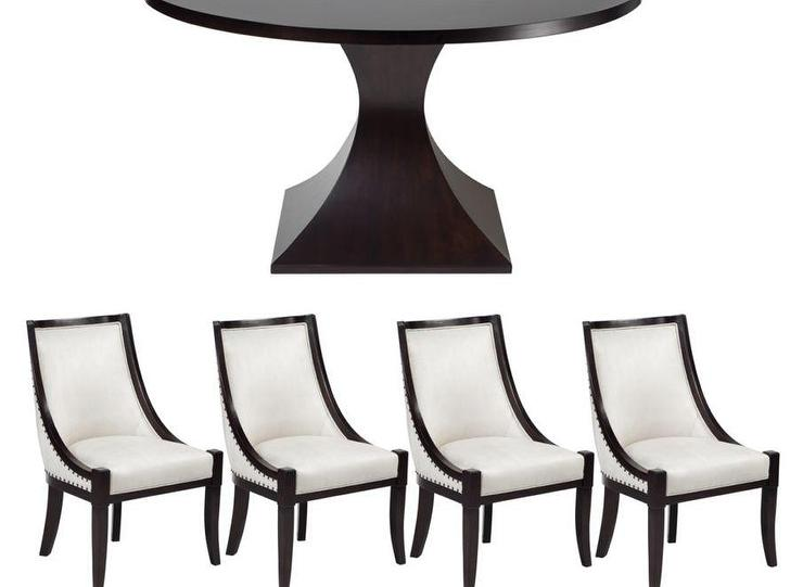 5 Pc Arts And Crafts Dining Table With Leaf 4 Chairs Target