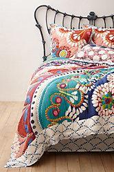 Bohemian Multicolored Moroccan Quilt : moroccan quilts - Adamdwight.com