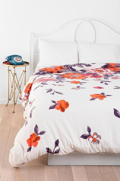 Plum Amp Bow Falling Garden Duvet Cover I Urban Outfitters