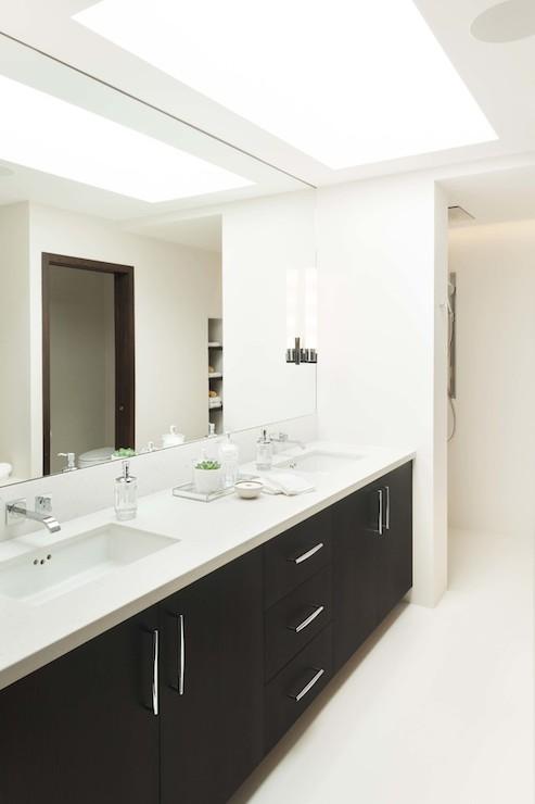 Bathroom Mirror Mounting Height ceiling height bathroom mirror design ideas
