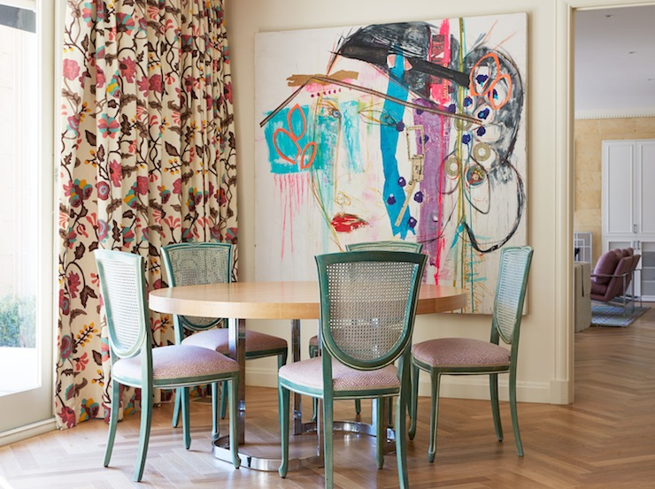 View Full Size Eclectic Dining Room
