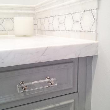 Lucite Cabinet Pulls Design Ideas