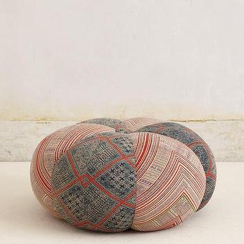 Handwoven Sawan Pouf I anthropologie.com