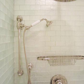 Iridescent tile bathroom contemporary bathroom liz williams - Iridescent Tile Tub Surround Design Ideas