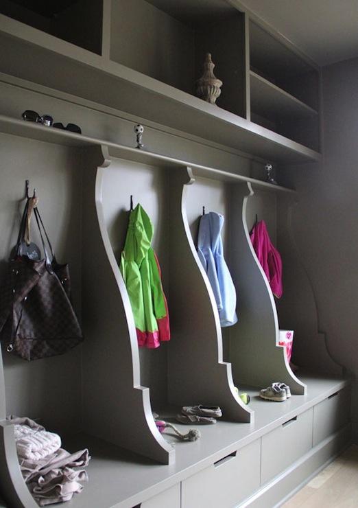gray mudroom contemporary laundry room ruard veltman