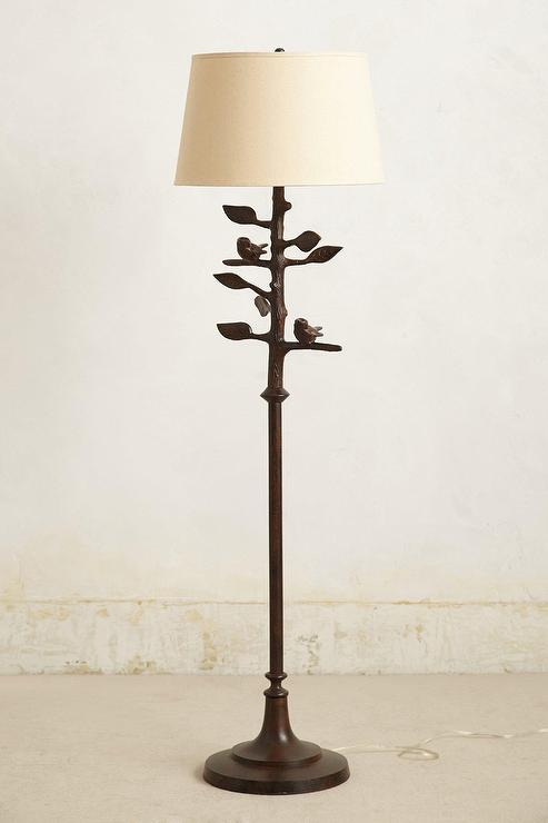 Birds Branches Floor Lamp