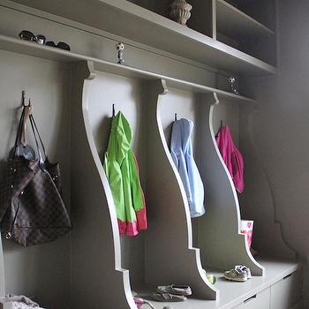 Gray Mudroom, Contemporary, laundry room, Ruard Veltman Architecture