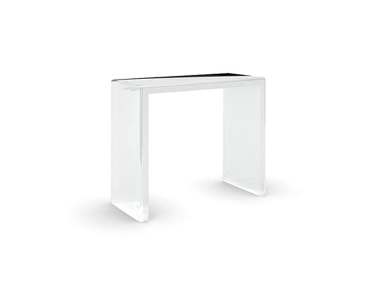 modern acrylic console table