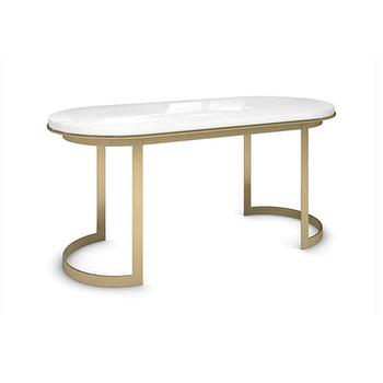 Boca Brass X Leg Desk I Roomservicestore
