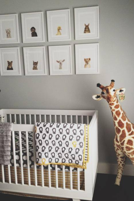 Nursery Art Ideas Contemporary Nursery Grant K Gibson