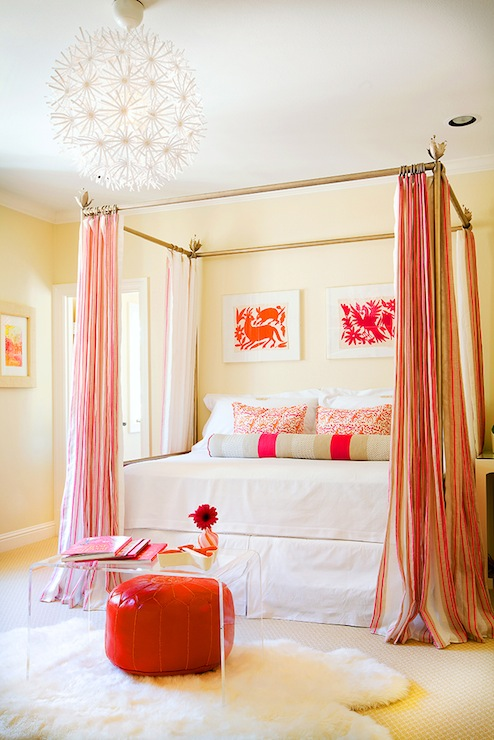 Red Curtains beige red curtains : Beige And Red Curtains Design Ideas