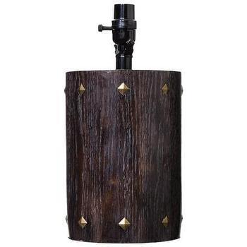 Nate Berkus Round Lamp Base with Brass Studs I Target