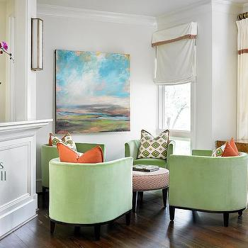 Circular Furniture Arrangement