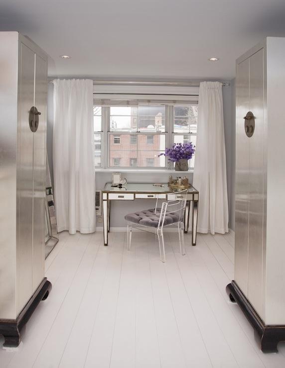 Mirrored Vanity - Contemporary - closet - Lily Z Design