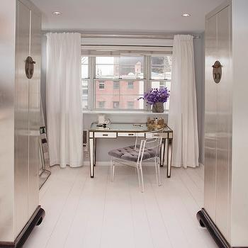 Mirrored Vanity, Contemporary, closet, Lily Z Design