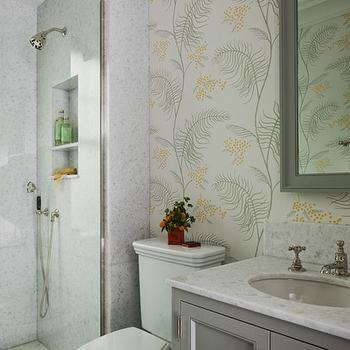Gray Guest Bathroom Design Ideas